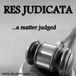 Res Judicata on IP – Related Judgements